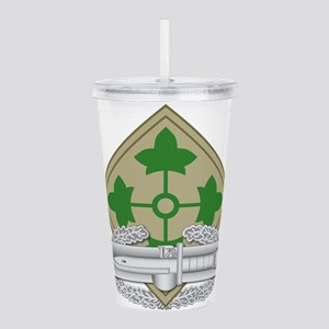 4th Infantry CAB Acrylic Double-wall Tumbler