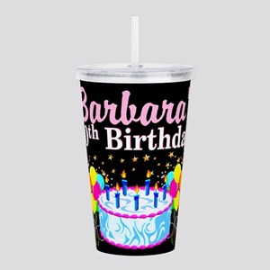 70TH PARTY GIRL Acrylic Double-wall Tumbler