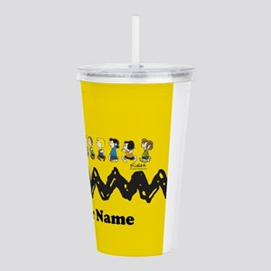 Peanuts Running Person Acrylic Double-wall Tumbler