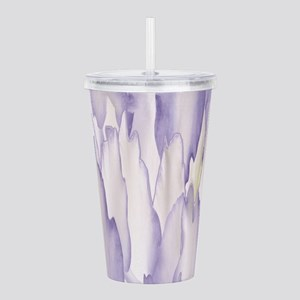 Abstract Orchid Painti Acrylic Double-wall Tumbler