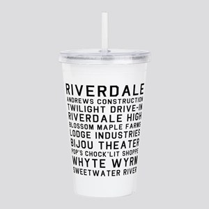 Riverdale Places Acrylic Double-wall Tumbler