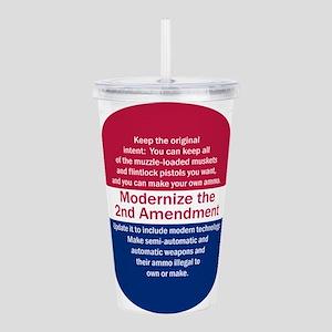 Modernize 2nd Amendment Acrylic Double-wall Tumble