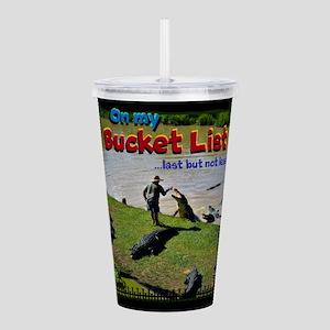 Bucket List Acrylic Double-wall Tumbler