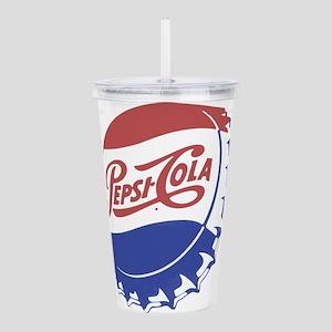 Pepsi Bottle Cap Acrylic Double-wall Tumbler