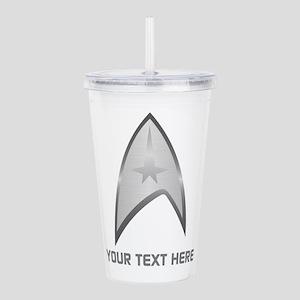 Star Trek Symbol Perso Acrylic Double-wall Tumbler