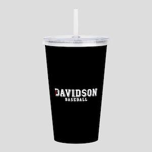 Davidson Baseball Acrylic Double-wall Tumbler