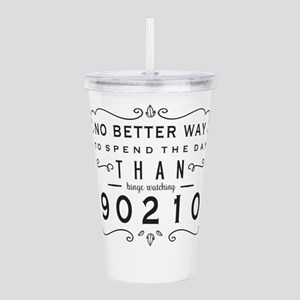 90210 Binge Watching Acrylic Double-wall Tumbler