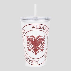 Vintage Albania Acrylic Double-wall Tumbler