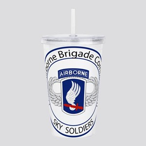 173rd Airborne Sky Soldiers Acrylic Double-wall Tu