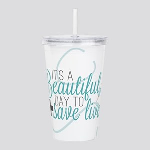 Grey's Anatomy: A Beau Acrylic Double-wall Tumbler