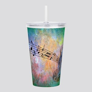Abstract Music Acrylic Double-wall Tumbler