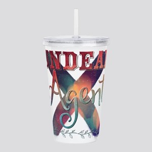 Undead Agent Acrylic Double-wall Tumbler