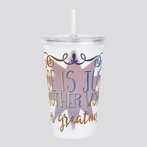Joe is just another wo Acrylic Double-wall Tumbler