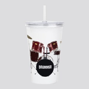 drum kit Acrylic Double-wall Tumbler