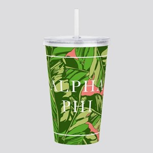 Alpha Phi Banana Leave Acrylic Double-wall Tumbler
