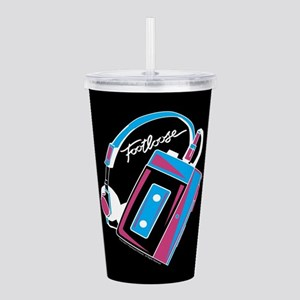 Footloose Cassette Acrylic Double-wall Tumbler