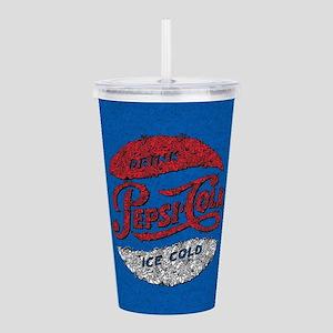 Pepsi Logo Doodle Acrylic Double-wall Tumbler