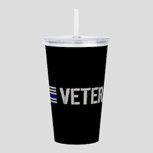 Police: Veteran (Thin Acrylic Double-wall Tumbler