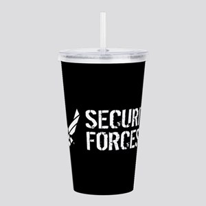 USAF: Security Forces Acrylic Double-wall Tumbler