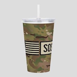 USAF: SOST (Camo) Acrylic Double-wall Tumbler