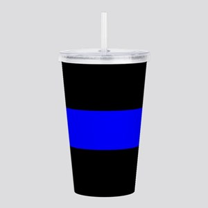 Police: The Thin Blue Acrylic Double-wall Tumbler