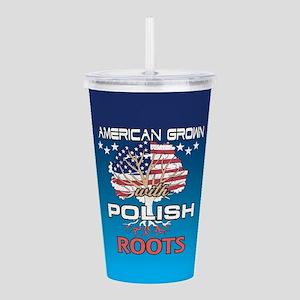 Polish American Acrylic Double-wall Tumbler