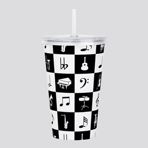Stylish modern music n Acrylic Double-wall Tumbler