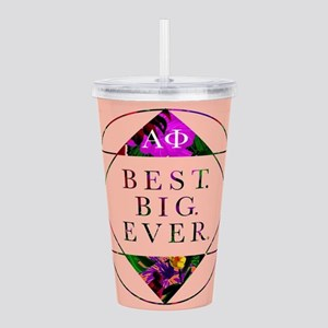 Alpha Phi Best Big Acrylic Double-wall Tumbler