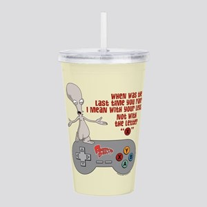 American Dad Letter X Acrylic Double-wall Tumbler
