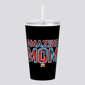 Spider-Man Mom Acrylic Double-wall Tumbler
