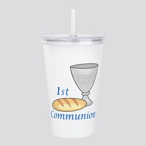 FIRST COMMUNION Acrylic Double-wall Tumbler