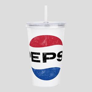 Pepsi Vintage Logo Acrylic Double-wall Tumbler