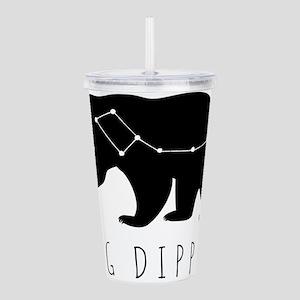 Big Dipper Black Acrylic Double-wall Tumbler