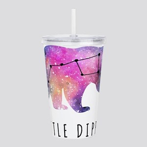Little Dipper with Galaxy Acrylic Double-wall Tumb