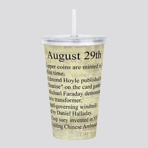 August 29th Acrylic Double-wall Tumbler