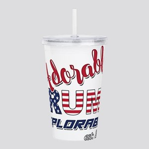 Adorable TRUMP Deplora Acrylic Double-wall Tumbler