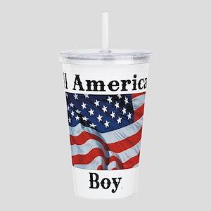 All American Boy Acrylic Double-wall Tumbler