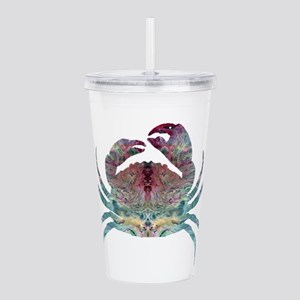 Colorful Crab Acrylic Double-wall Tumbler