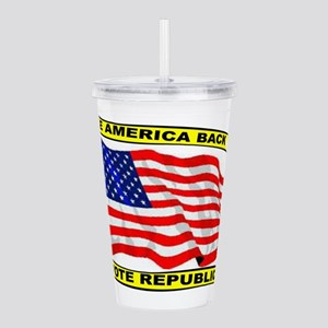 VOTE REPUBLICAN Acrylic Double-wall Tumbler