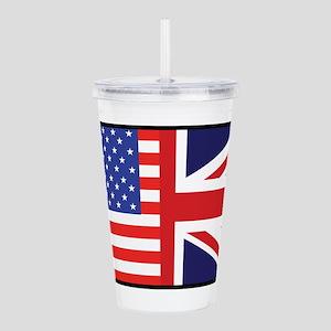 america_britain Acrylic Double-wall Tumbler