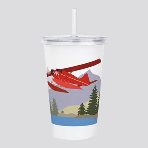 Alaska Plane Acrylic Double-wall Tumbler