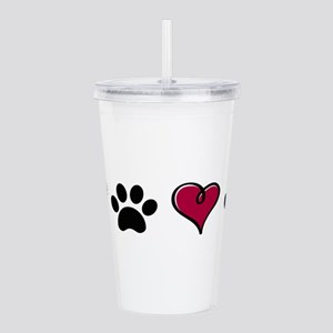 Love Pets Acrylic Double-wall Tumbler