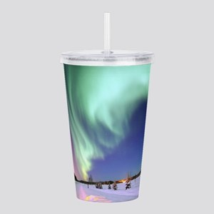 Northern Lights of Ala Acrylic Double-wall Tumbler
