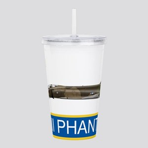 f4grey copy Acrylic Double-wall Tumbler