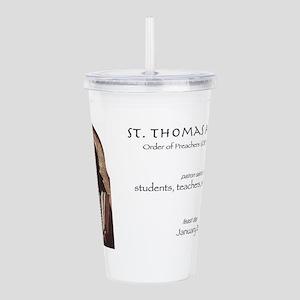 st. thomas aquinas, pa Acrylic Double-wall Tumbler