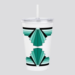 Art deco patterns in a Acrylic Double-wall Tumbler