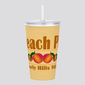 Peach Pit Acrylic Double-wall Tumbler