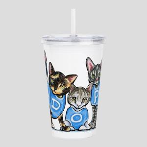 Adopt Shelter Cats Acrylic Double-wall Tumbler