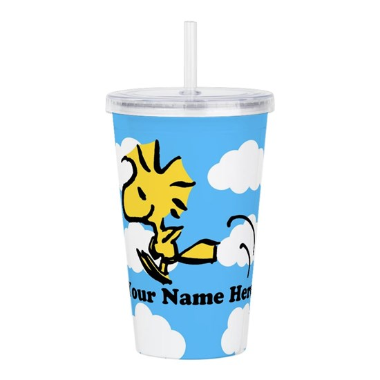 f8715df2980 Woodstock Flying Perso Acrylic Double-wall Tumbler by SnoopyStore ...