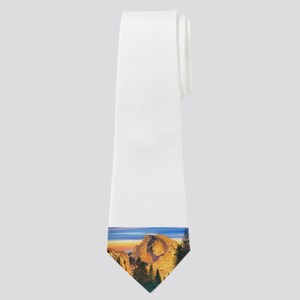 Glowing Half Dome Neck Tie